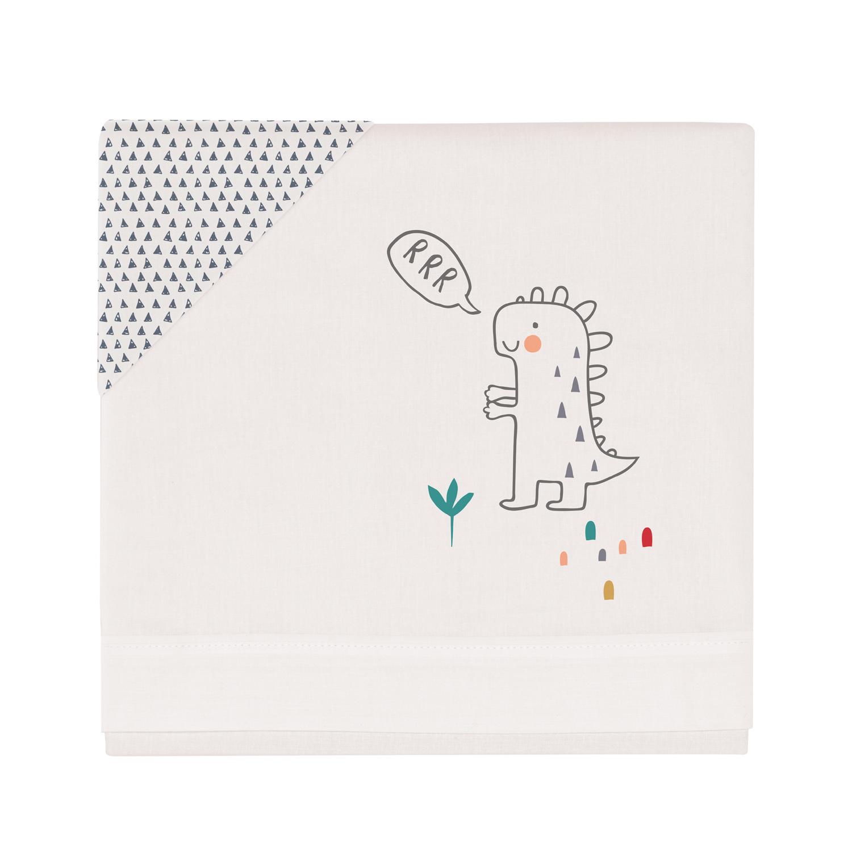 Triptico sabanas cuna 100% algodón